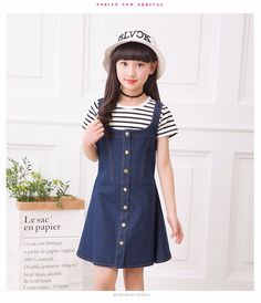 8d2c3a081 31 Best girls  denim dress images