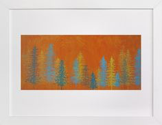 Orange Trees by Emily Magone at minted.com