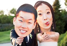 Hilarious wedding photo idea.