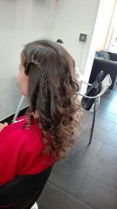 #penteado #penteadodefesta #trança