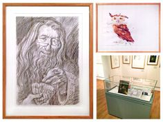 Jim Kay's Harry Potter illustrations on show at Seven Stories Umbrella Painting, Harry Potter Illustrations, Visual Puns, Pencil And Paper, Harry Potter Art, Mug Shots, Hogwarts, Framed Prints, Magic