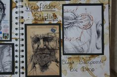 mark powell gcse art - Google Search Sketchbook Layout, Textiles Sketchbook, Gcse Art Sketchbook, Sketchbook Ideas, Sketchbook Inspiration, Sketchbooks, Artist Research Page, Mark Powell, Book Presentation