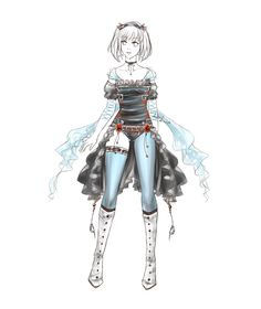 Outfit design - 19 - closed by LotusLumino on DeviantArt