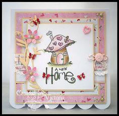 Vixx Handmade Cards: NEW HOME CARD...