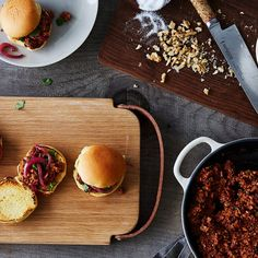 Spicy, Saucy Walnut and Mushroom Sloppy Joes - California Walnuts Best Veggie Burger, Best Burger Recipe, Vegetarian Sloppy Joes, California Walnuts, Sloppy Joes Recipe, Vegan Main Dishes, Vegan Meal Prep, Veggie Recipes, Fitness Foods