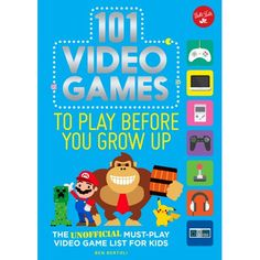 101 Video Games to Play Before You Grow Up: The unofficial must-play video game list for kids Things), Bertoli, Ben School Games Online, Online Games For Kids, Online Video Games, Play Game Online, Seniors Online, Types Of Video Games, Video Games List, Fun Games For Toddlers, Video Games For Kids