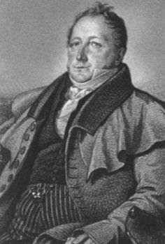 Сергей Львович Пушкин. К. К. Гампельн. 1824. Бумага, итальянский карандаш