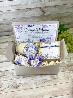 Baby Boy Gift Baskets, New Mom Gift Basket, Baby Shower Gift Basket, Baby Boy Gifts, Baby Shower Gifts, Expecting Mom Gifts, Blue Gift, Personalized Gift Tags, Perfect Gift For Mom