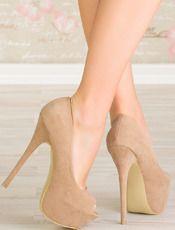 Παπούτσια Εμόνα - W-Lady Exclusive - χακί