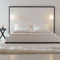 Upholstered Scilly Bed from Usona