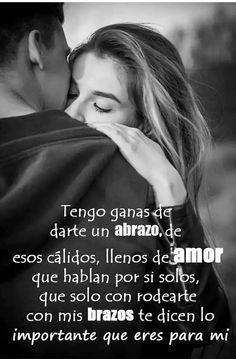 Tengo ganas de darte un abrazo que te haga saber que todo esta olvidado... Te amo... Descansa... ❤