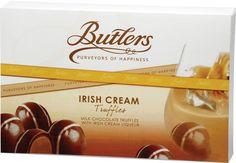 Butlers Irish Cream Truffles from Gourmet International  www.Gourmetint.com