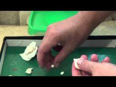 Мастер класс изготовление цветов из холодного фарфора (роза)-это просто - YouTube