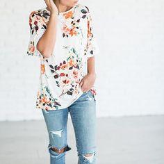 9a603d562b2d Women elegant floral T shirt short sleeve o neck summer fashion loose tees  ladies casual Tops