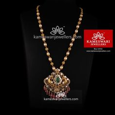 Freshwater Pearls Meaning. How you can find good precious jewelry at trustworthy selling prices Antique Jewellery Designs, Gold Earrings Designs, Gold Jewellery Design, Necklace Designs, Pearl Jewelry, Pendant Jewelry, Bridal Jewelry, Indian Jewelry, Gold Jewelry