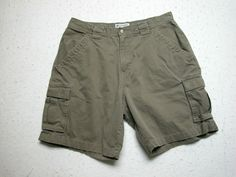 Columbia Sportswear Cargo Shorts Mens  Brown Cotton  Sz 36 ( Measure 34x9 ) EUC #Columbia #Cargo Columbia Sportswear, Shorts, Brown, Fit, Cotton, Chocolates, Brown Colors, High Waisted Shorts