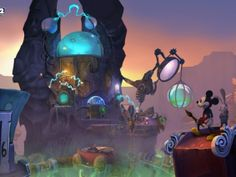 Epic Mickey 2 - Frontierland by Kevin T. Chin