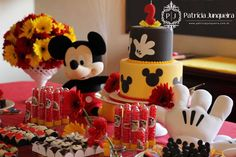 Festa Mickey                                                                                                                                                                                 Mais