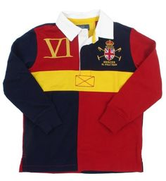 Polo Ralph Lauren Baby Boys Mercer Long Sleeve Rugby Shirt