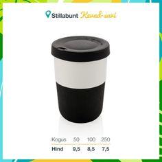 Keskkonnasõbralik kohvitops (PLA), 380 ml. Lisandub KM. Coffee To Go, Travel Mug, Mugs, Tableware, Black, Dinnerware, Black People, Tumblers, Tablewares
