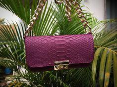 Python bag Python handbag Bag Katufon bag Python skin by KATUFON