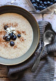 Porridge per la colazione (ricetta vegana)