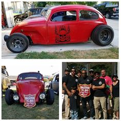 Congrats to Charles Moore for winning the @texas_trash_vdub_club club choice award #oktoberfest2016 check out facebook.com/redscustompinstriping to order your custom one of kind trophy #RedDoneIt #vw #veedub #volksrod #type1