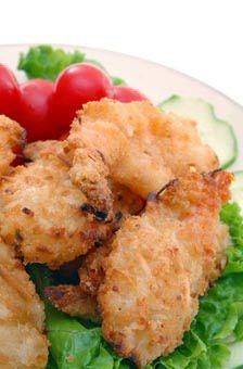 Coconut Shrimp Salad