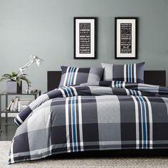Plaid Comforter, Grey Duvet, Twin Comforter Sets, King Duvet Cover Sets, King Comforter, Bedding Sets, Duvet Covers, Queen Duvet, Comforter Cover