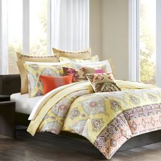 Echo Bedding Colorful Kilim Duvet Cover, 100% Cotton - Bed Bath & Beyond