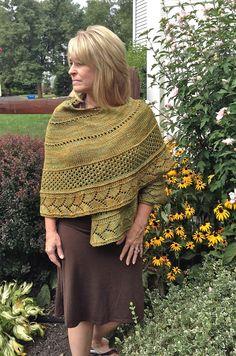 Ravelry: Sprig Of Hope pattern by Robin Wiest Knit Vest Pattern, Lace Knitting Patterns, Shawl Patterns, Hood Pattern, Knitting Stitches, Crochet Hood, Knit Or Crochet, Knitted Shawls, Knitted Scarves