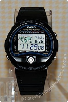 CASIO - TS-100 - Sensor - Vintage Digital Watch - Digital-Watch.com