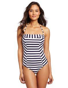 fa6d2b9fca OndadeMar Womens Cayenne Bandeau 1 Piece Bandeau One Piece Swimsuit