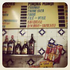 """Rio de Janeiro old school """"boteco"""" type"""