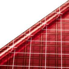 Wilko Christmas Wrap Tartan Design 5m Festive Forest