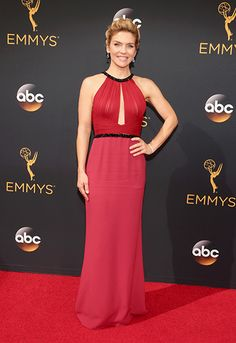Better Call Saul Star Rhea Seehorn Looked Ravishing In A Red Gown With
