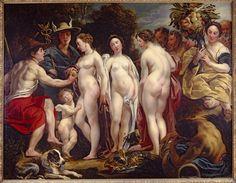 Jacob Jordaens The Judgment of Paris c. 1620-1625. Oil on canvas. 87,7 x 113 cm. Lowe Art Museum, University of Miami.