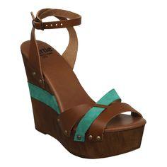Bertie Shoes : Ladies - Sandals - Wedges : Gerino
