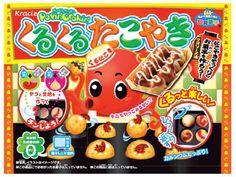 DIY Candy Popin Cookin Kracie Pancake Takoyaki making kit Japanese snack  #Kracie