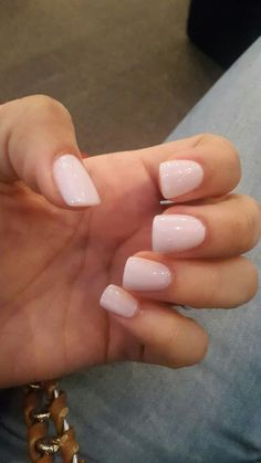 Baby-Pink | Awesome Wedding Nails for Bride Classy