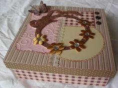 Caixa scrapbook feminina
