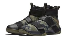 Nike LeBron Soldier 10 SFG Camo 862970-022 | Sole Collector