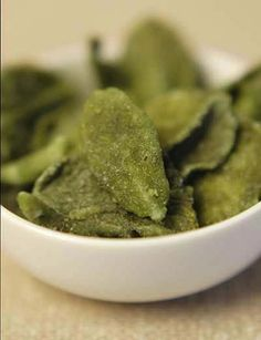 Candied Mint Leaves!  I just tried this recipe with my orange mint leaves!  They're great!