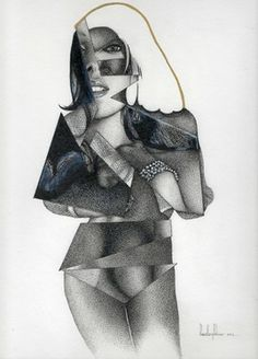 Check out my entry in the Saatchi Online Showdown competition!