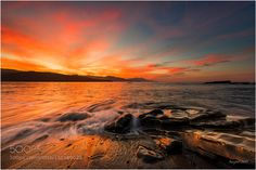 Red Sunset by juanjobasurto. Please Like http://fb.me/go4photos and Follow @go4fotos Thank You. :-)