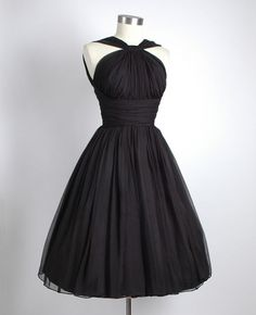 Just another classic little black dress but ohh, he'll never take his eyes off you!