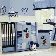 Decoración Mickey: 21 ideas Habitaciones infantiles