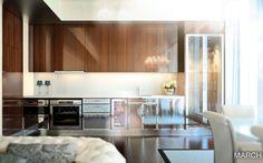 ©SieMatic #Kueche #NewYork #Hotel #baccarat #SieMatic #TonyIngrao #kitchen #design #interior