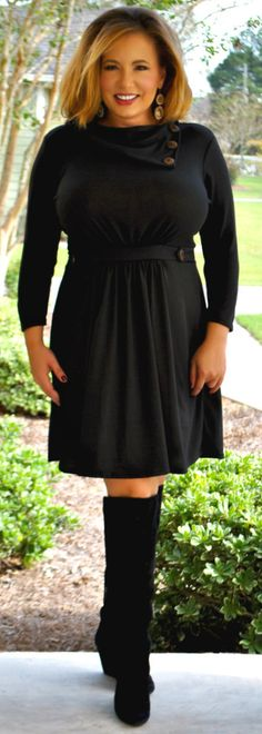 Perfectly Priscilla Boutique - Home For The Holidays Dress, $44.00 (http://www.perfectlypriscilla.com/home-for-the-holidays-dress/)