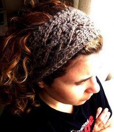 Moura Headband free knitting pattern